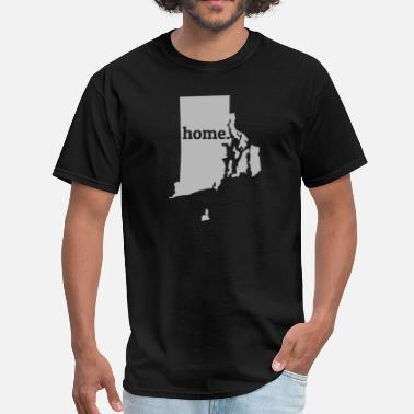 Home Rhode Island Rhode Island Is My Home T-Shirt - Men's T-Shirt