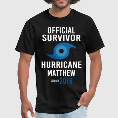 I SURVIVED HURRICANE MATTHEW  - Men's T-Shirt