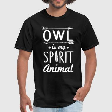 Owl Spirit Animal Owl Spirit Animal T-Shirt - Men's T-Shirt