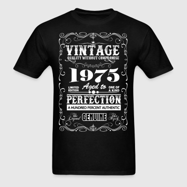 Premium Vintage 1975 Aged To Perfection - Men's T-Shirt