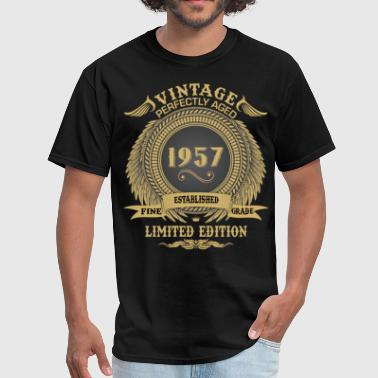 Vintage Perfectly Aged 1957 Limited Edition - Men's T-Shirt