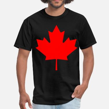 Canada Red Maple Leaf Canada Maple leaf red - Men's T-Shirt