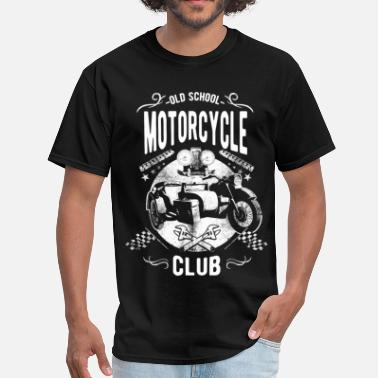School Clubs Old School Motorcycle Club - Men's T-Shirt