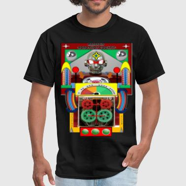 ROBOT COCKPIT - Men's T-Shirt