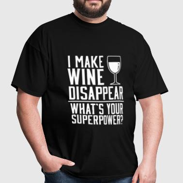 Funny wine superpower - Men's T-Shirt