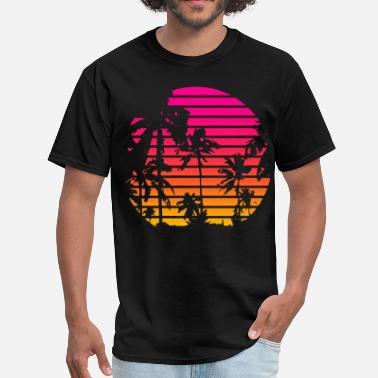 Tropical Tropical Sunset - Men's T-Shirt
