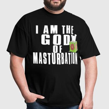 God Of Masturbation Shirt - Men's T-Shirt