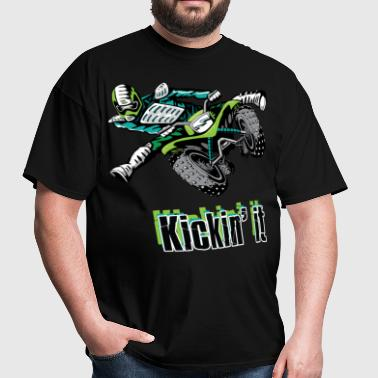 Kickin' Quad Style - Men's T-Shirt
