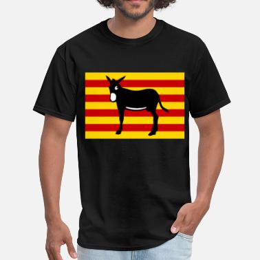 Burro Burro Catalan - Men's T-Shirt