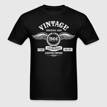 Vintage Perfectly Aged 1966 - Men's T-Shirt