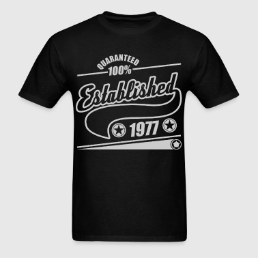 established  1977b.png - Men's T-Shirt