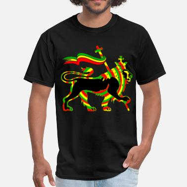 Rastafari Rasta Lion - Men's T-Shirt