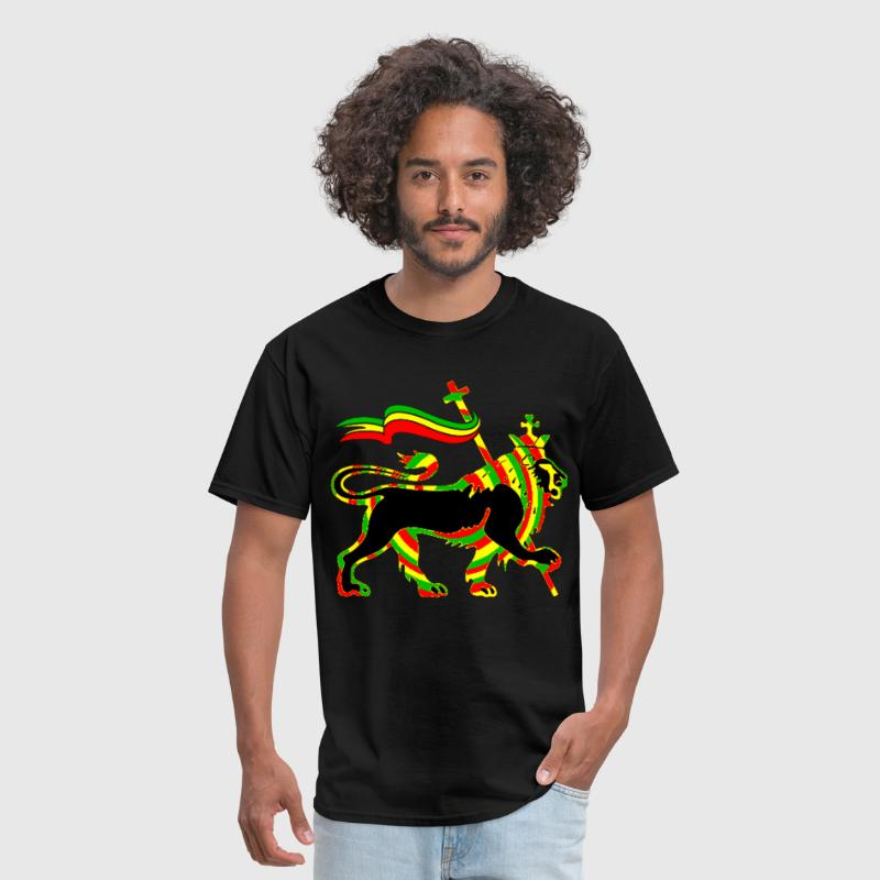 Rasta Lion - Men's T-Shirt