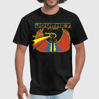Journey Journey... up to Heaven - Men's T-Shirt