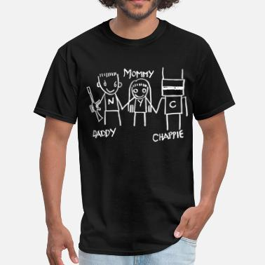 Chappie 2015 Daddy - Mommy - Chappie - Men's T-Shirt