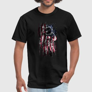 Usa Cool USA astronaut - Men's T-Shirt