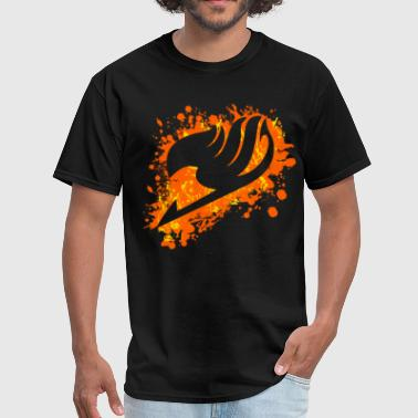 fairy tail splatter - Men's T-Shirt