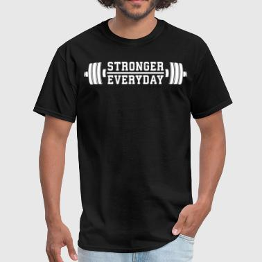 Everyday Clothing Stronger Everyday - Men's T-Shirt