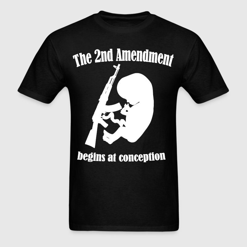 The 2nd Amendment - Men's T-Shirt