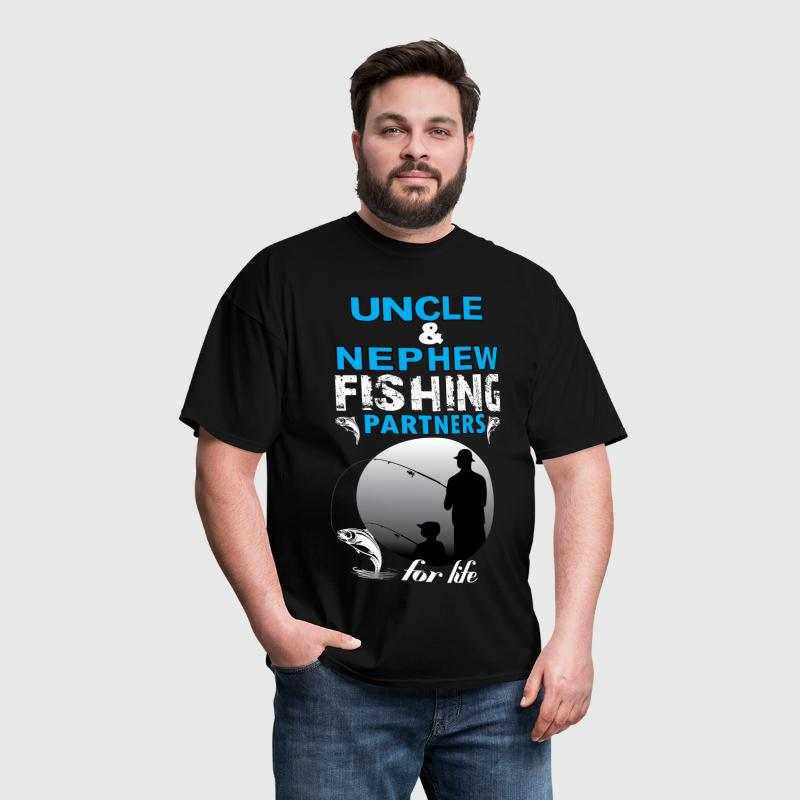 Uncle & Nephew Fishing Partners For Life - Men's T-Shirt