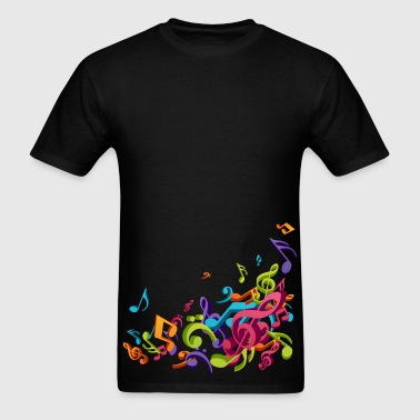 Music - Musician - Band - Music Notes - Musical - Men's T-Shirt