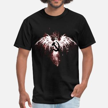 American Eagle American Eagle with Sickle and Hammer - Men's T-Shirt