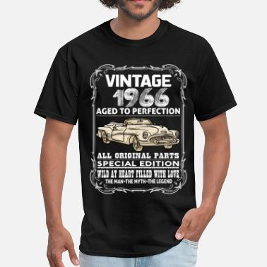 1966 Aged To Perfection VINTAGE 1966-AGED TO PERFECTION - Men's T-Shirt