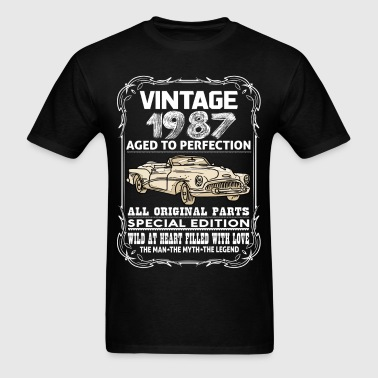 VINTAGE 1987-AGED TO PERFECTION - Men's T-Shirt
