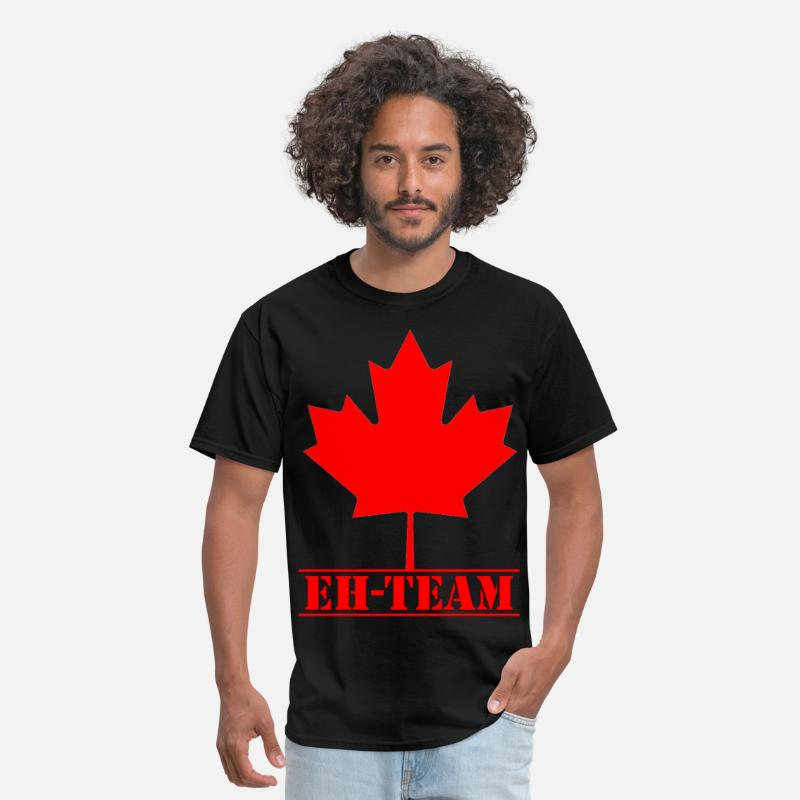 Canada T-Shirts - Canada EH-TEAM (1) - Men's T-Shirt black