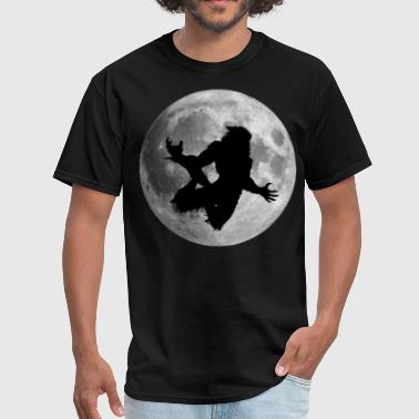 werewolf moon - Men's T-Shirt