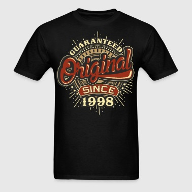 Birthday guaranteed since 1998 - Men's T-Shirt