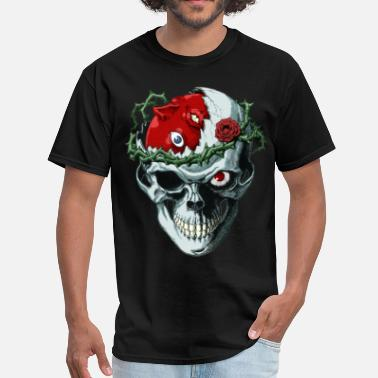 Demon Skull skull demonic - Men's T-Shirt