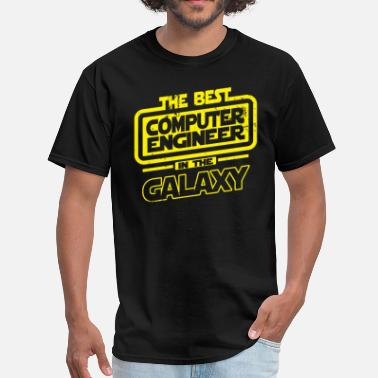 Best Computer Engineer The Best Computer Engineer In The Galaxy - Men's T-Shirt