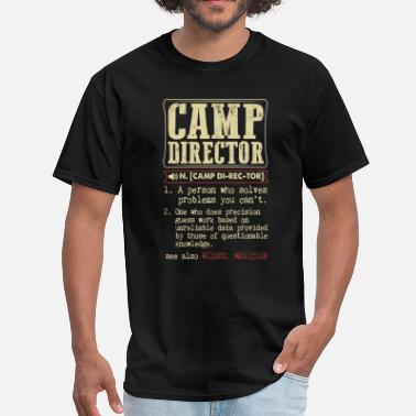Camp Director Funny Camp Director Dictionary Term - Men's T-Shirt