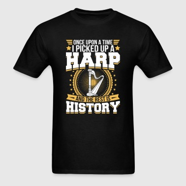 Harp And the Rest is History T-Shirt - Men's T-Shirt