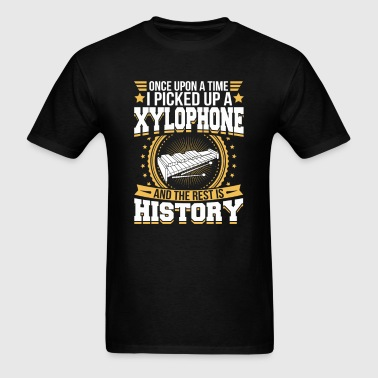 Xylophone And the Rest is History T-Shirt - Men's T-Shirt