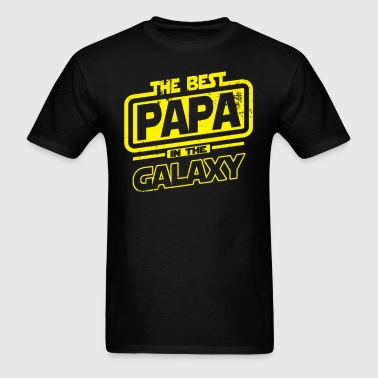 The Best Papa In The Galaxy - Men's T-Shirt