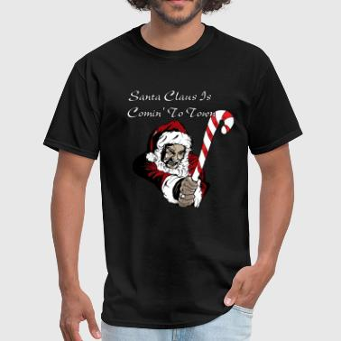 Santa Claus Is Comming - Men's T-Shirt