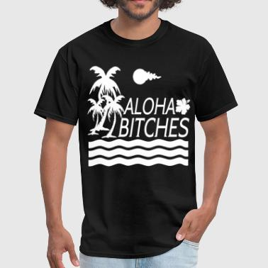 Aloha Bitches AL5626.png - Men's T-Shirt