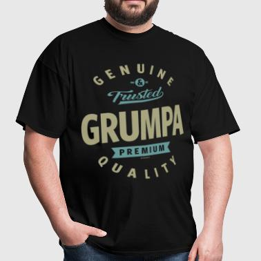 Genuine Grumpa - Men's T-Shirt