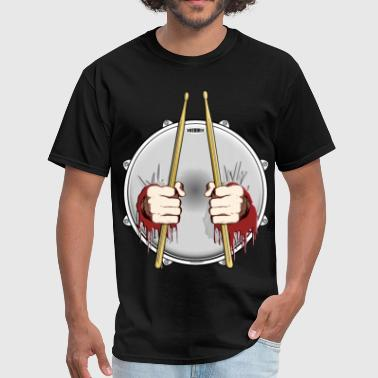 Double Fisted Drummer - Men's T-Shirt