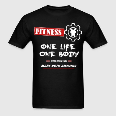 One Life, One Body - Men's T-Shirt