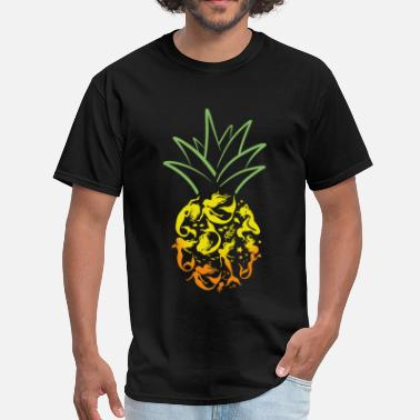 Awesome Pineapple Mermaid Pineapple Awesome T shirt - Men's T-Shirt