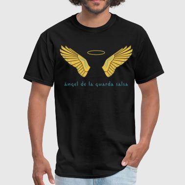 Ángel de la Guarda Salsa Men's Black - Men's T-Shirt