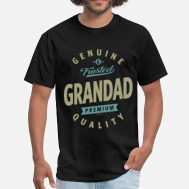Old Grandad Genuine Grandad - Men's T-Shirt