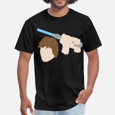 Luke Skywalker Luke Skywalker Lightsaber - Men's T-Shirt