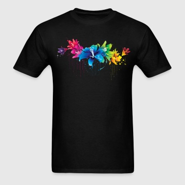 colorful flower - Men's T-Shirt