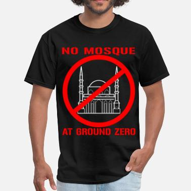 Ground Mo Mosque at Ground Zero - Men's T-Shirt