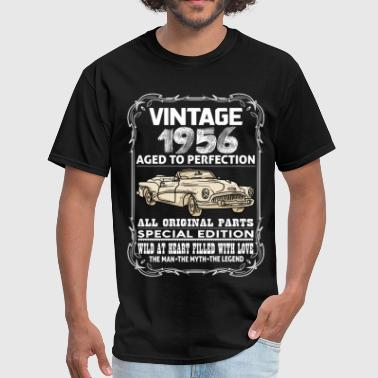 VINTAGE 1956-AGED TO PERFECTION - Men's T-Shirt