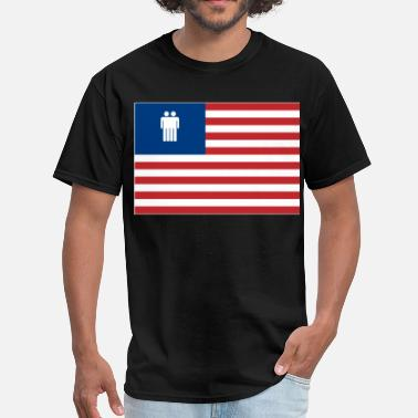 The Man In The High Castle TMITHC Blunt Headed Flag - Men's T-Shirt